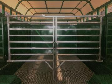 Porte intérieure de bétaillères